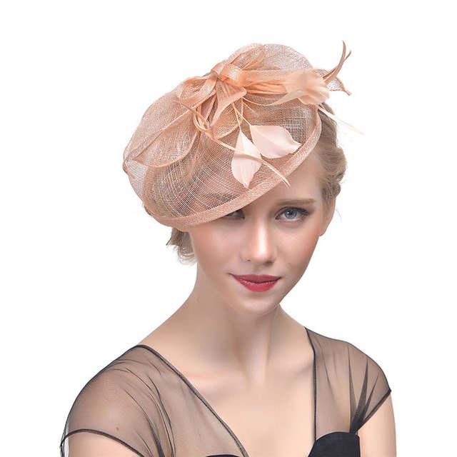 Online Shop Boutique Dresses Gauze Wedding Feathered Headwear Bridal Net  Feather Hats White Red Black Birdcage Net Wedding Hats Bridal  9cc2b13b38b