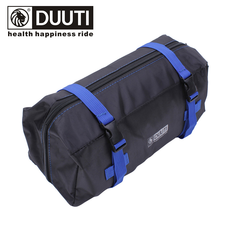 DUUTI Bicycle Storage Bag 14-20 Inch Folding Bike Loading 420D Pannier Shoulder Hand Carry Luggage Handlebar Seat Post Mount