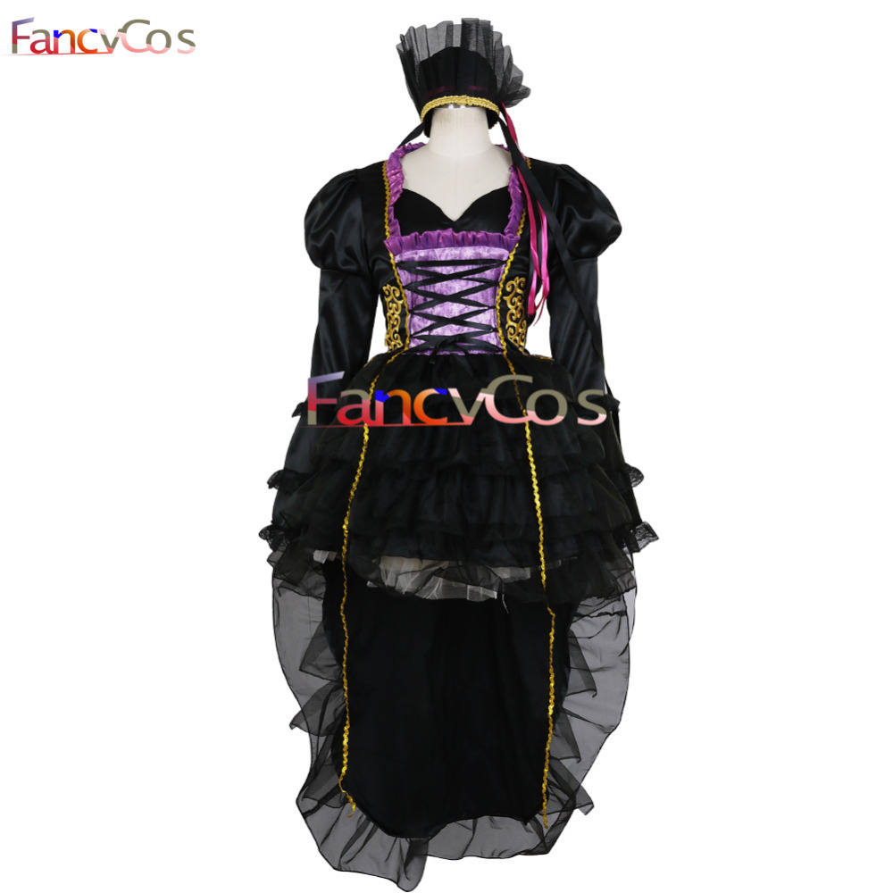 Halloween VOCALOID 2 Hatsune Miku the sandplay singing of the dragon Dress Cosplay Costume Adult Deluxe High Quality Custom Made