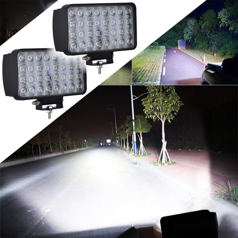 CE RoHS IP67 Waterproof 96W led Spot Work Light Bar Driving Lights Inch Combo Beam Offroad Car For Jeep UTE Truck Fog Lamp lyc 6000k led daylight for citroen c4 for nissan led headlights 12v car led lights ip 68 chips offroad work light 40w