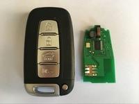 QCONTROL Car Remote Smart Key Fit For HYUNDAI 433MHz ID46 I30 I45 Ix35 Genesis Equus Veloster