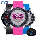 TVG À Prova D' Água Esportes Relógios para Homens Mulheres de Silicone Colorido Strap Militar Moda Unissex Analógico Digital Relógios de Pulso + BOX