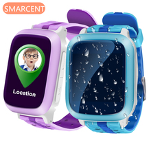 Life Waterproof GPS Smart Watch for Kids support Sim Card Anti-lost SOS Monitor Child Gift Smartwatch Phone Color Screen PK Q90