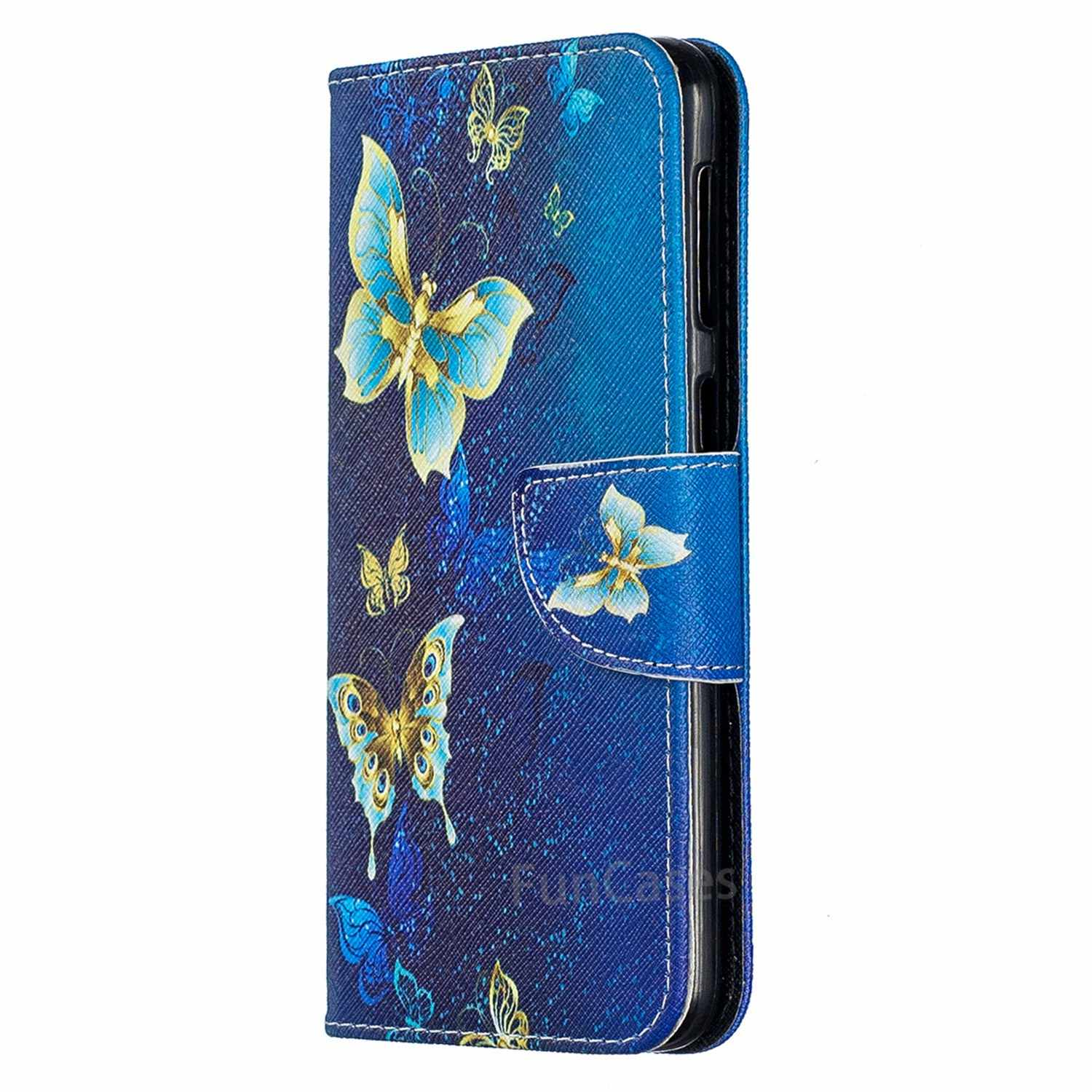 30a94626f2f ... Fundas Carcasas For Samsung M30 Flip Leather Book Card Wallet Phone  Case Caso For Samsung Galaxy ...