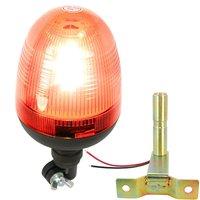 12V Car LED Light Flexible Pipe Mount Low Profile Amber Beacon Emergency Hazard Warning Safety LED
