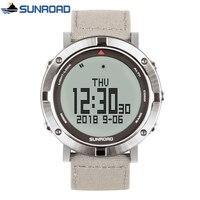 SUNROAD Military Digital Watch Mens Watches Top Brand Luxury Heart Rate Monitor Sport Wrist Watch Clock Saat Relogio Masculino