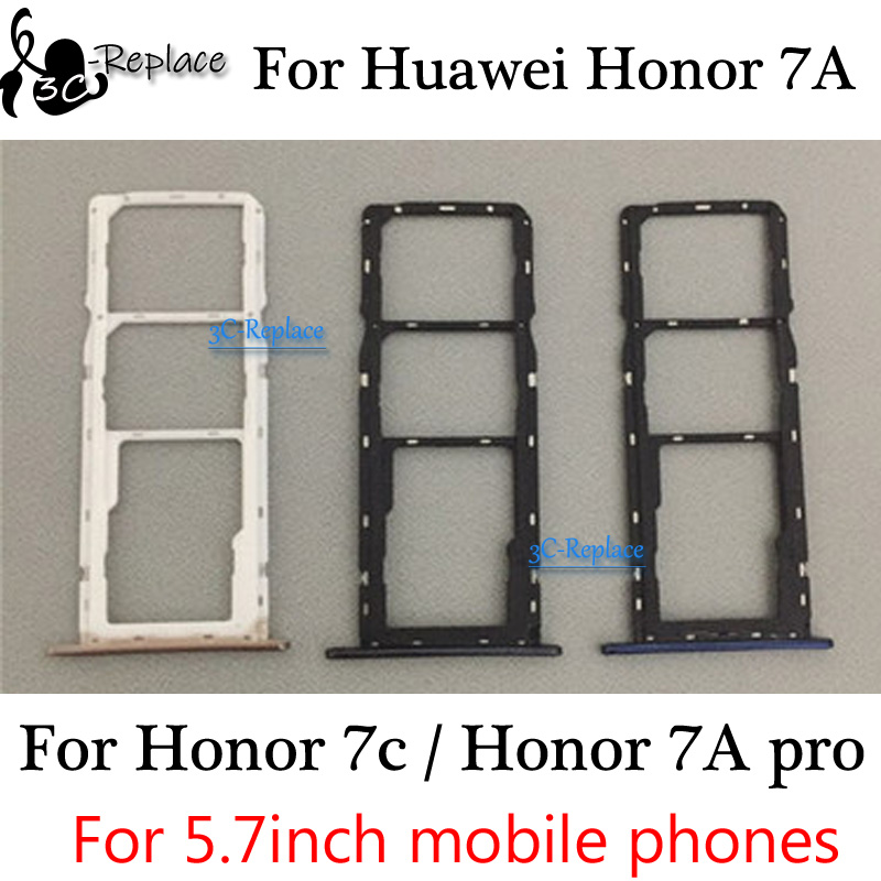 Card-Holder Huawei Slot-Parts Honor for 7A Pro AUM-L29 Sim-Tray Micro-Sd