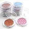 Creativo Monocromo Color de Sombra de Ojos de Doble Capa de Alta Luz 12 Especies Naturales De Larga Duración Pigmento de Sombra de Ojos Herramientas de Maquillaje