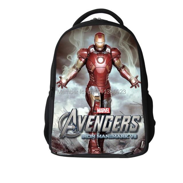 a1ec5141db Spider Man Iron Man Bat man The Avengers Capitan America Zaini Ragazze  Ragazzi Bambini studenti bambini
