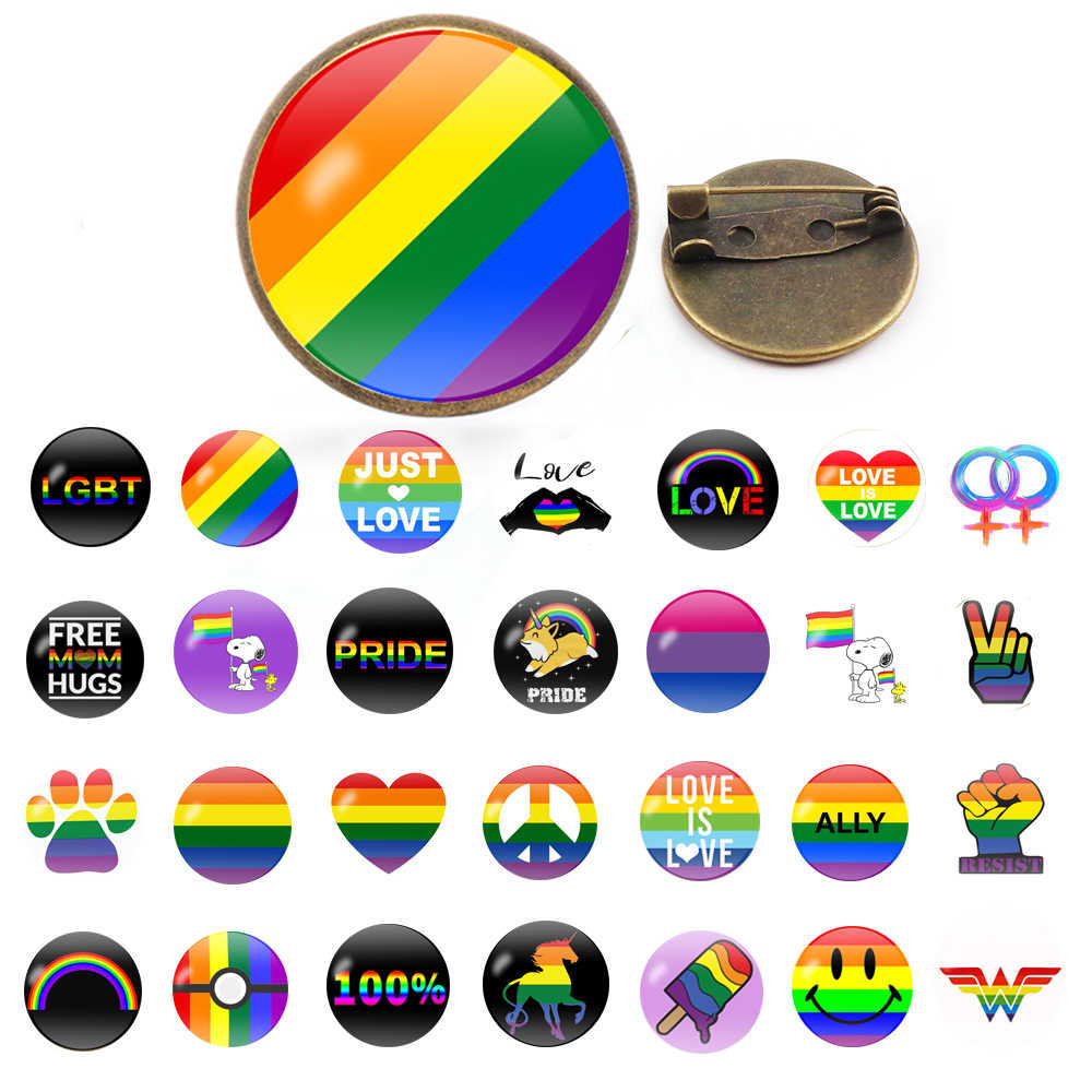 Hot Rainbow Hart pins Gay Pride Pin LGBT Pin Badge Awareness Broches Hart Sieraden voor Mannen Vrouwen Unisex Avengers 3 thanos
