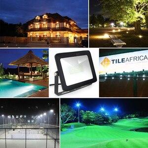Image 5 - Светодиодный прожектор Водонепроницаемый IP65 15 Вт 30 Вт 60 Вт 100 Вт 150 Вт 200 Вт 220 В LED прожектор подходит для открытый настенный светильник refletor привело