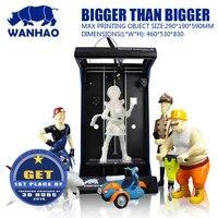 Wanhao en iyi fiyat 3D yazıcı ile yüksek kaliteli Filament 3D yazıcı