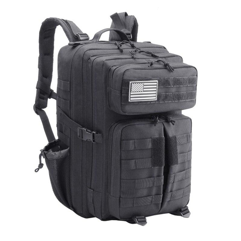 45L 3 P sac à dos militaire tactique sac à dos escalade sac à dos hommes Camouflage Sport sacs Camping randonnée sac Molle Pack