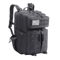 45L 3P Outdoor Backpack Military Tactical Backpack Climbing Bag Rucksack Men Camouflage Sport Bags Camping Hiking Bag Molle Pack