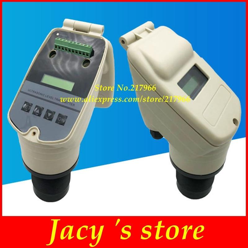 DC24V AC220V ultrasonic level meter ultrasonic liquid level sensor ultrasonic level transmitter liquid level sensor 4