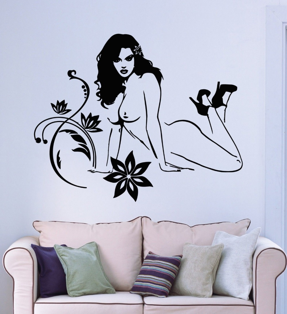 Sexy wall decals