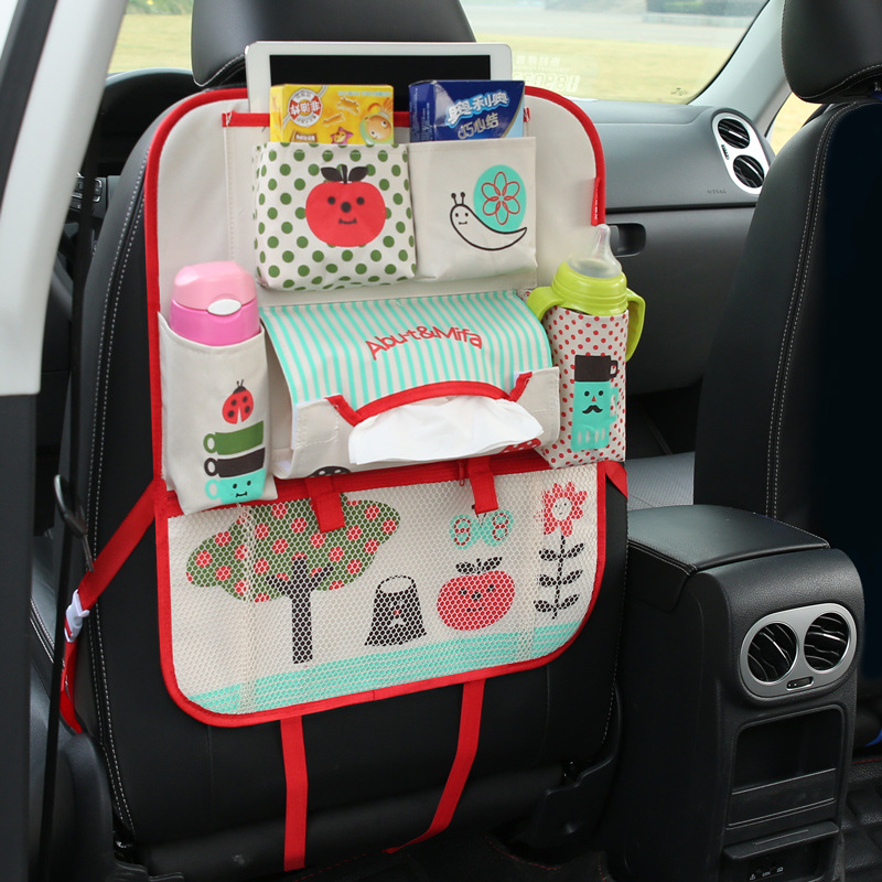 Viciviya Seat Storage Bag Waterproof Universal Baby Stroller Bag Organizer Baby Car Hanging Basket Storage Diaper Bag$