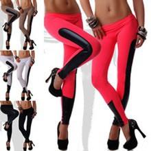 2014_Newest_Women_s_sexy_punk_rock_Milk_Silk_Patchwork_Faux_Leather_Leggings_Y103_leggings_pants.jpg_200x200