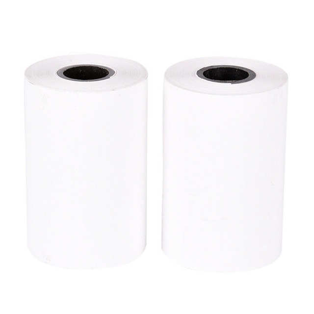 US $1 14 17% OFF|1pc 57*40 Thermal Receipt Paper Roll For Mobile POS 58mm  Mini Thermal Printer Lot Printing Paper Label Printing Paper-in Printer