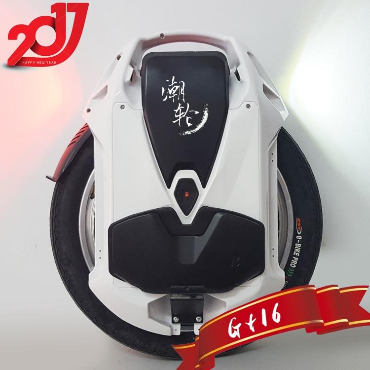 2019 Rockwheel GT16 monociclo Eléctrico 40 + km/h 858WH/1036WH 84 V 2000 W motor bicicleta eléctrica de 16 pulgadas con una rueda