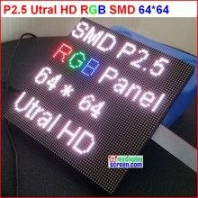 DIY p2.5 светодиодный дисплей модуль, 2,5 мм пикселей крытый rgb полноцветный светодиодный экран, 1/32 сканирования 160*160 мм p2.5 полноцветный светодиодный дисплей Панель