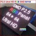 P2.5 светодиодный дисплей модуль, 2.5 мм пикселей крытый rgb полноцветный светодиодный дисплей, 1/32 сканирования 160*160 мм 65*64 пикселей p2 полноцветный модуль