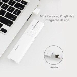 Image 5 - Knorvay N89 2.4GHz Wireless אוויר עכבר מגיש עם ירוק לייזר PPT מצגת אלחוטי שלט רחוק Clicker