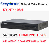 Seeyou POE NVR 8CH H 265 Network Video Recorder Full HD 720P 960P 1080P Recorder With