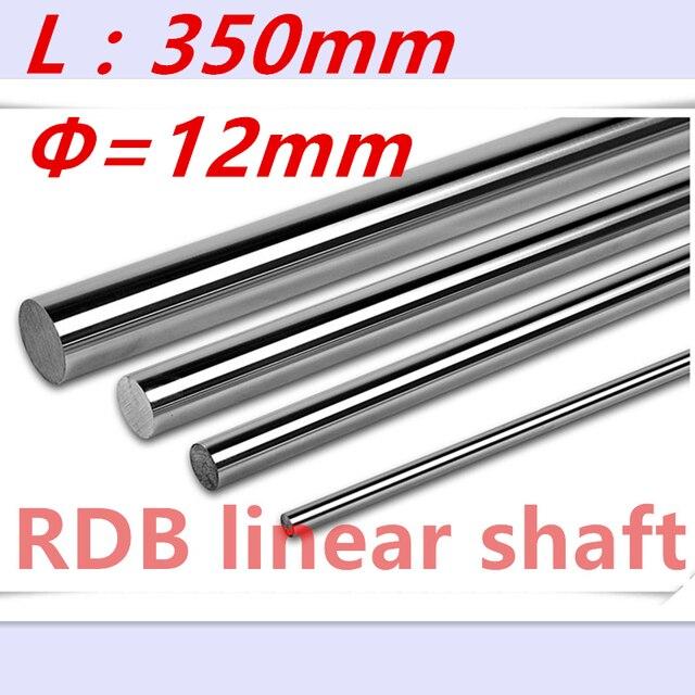 Мм Новый 12 мм линейный вал мм 350 мм Длинный линейный рельс мм 12x350 мм ЧПУ Линейный вал закаленный стержень линейный направляющий рельс ЧПУ детали