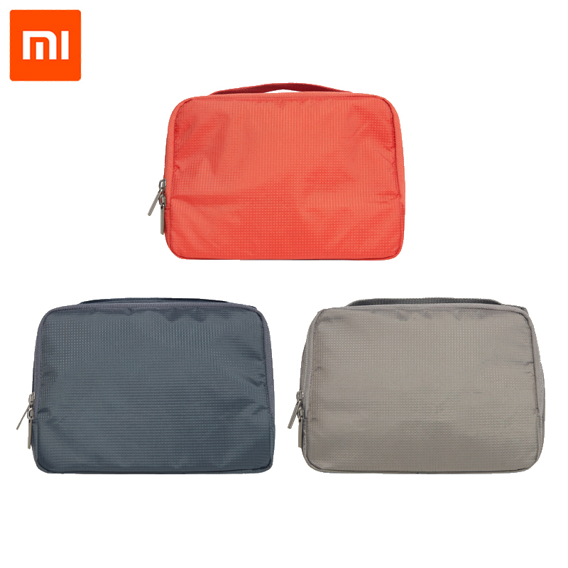 100% Original Xiaomi 90 Women Makeup Cosmetic Case 3L Capacity Handbag Travelling Bag Men Wash Bag Rylon Waterproof Storage bag image