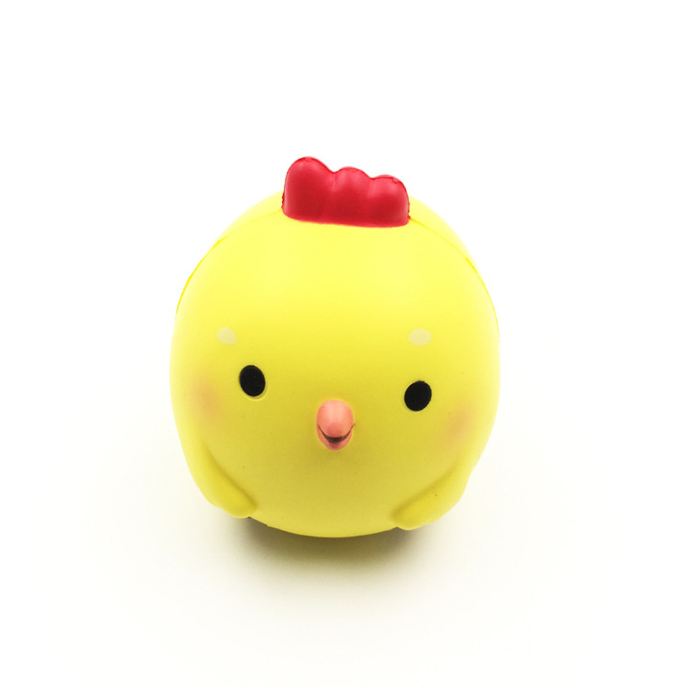 2017 Squishy Chicken baby Scented Squeeze Slow Rising Fun Toy Relieve Stress Cure Gift