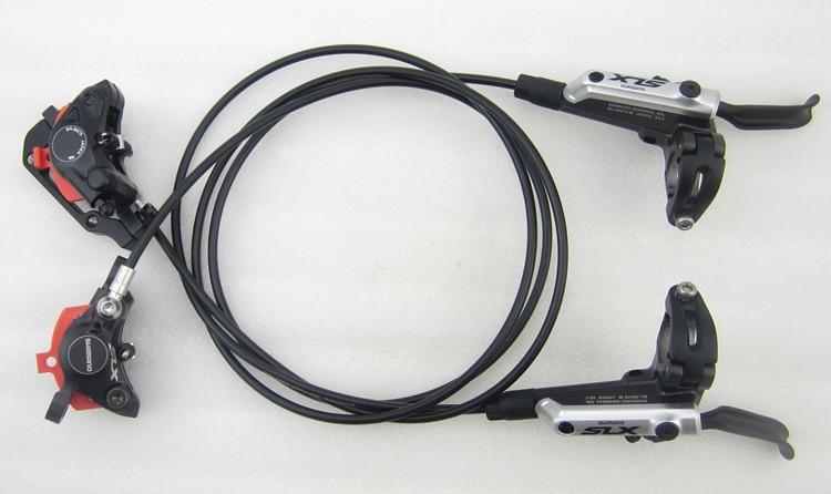 Shimano SLX m675 BR-BL-M675 Hydraulic Brake disc Set Front and Rear bicycle MTB mountain bike disc oil brake lever and clip shimano 2016 new br bl m315 hydraulic disc brake mtb mountain bike calipers left