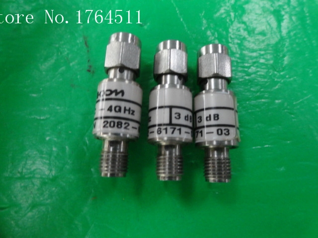 [BELLA] M/A-COM 2082-6171-03 DC-4GHz 3dB 2W RF Coaxial Fixed Attenuator SMA  --5PCS/LOT