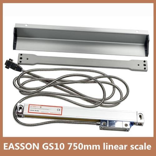 High precision linear encoder EASSON GS10 TTL 5V Trvael 750mm 0 005mm linear scale encoder for