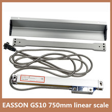 Высокая точность линейного энкодера EASSON GS10 TTL 5 В Trvael 750 мм 0.005 мм линейная шкала encoder для токарные токарный станок линейный рельс