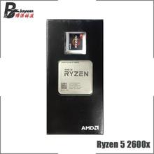 AMD procesador de CPU AMD Ryzen 5 2600X R5 2600X 3,6 GHz de seis núcleos y 12 hilos L2 = 3M L3 = 16M 95W YD260XBCM6IAF Socket AM4