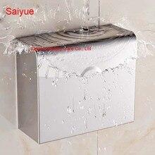 Новый очаровательная держатель туалетной бумаги Box SUS 304 нержавеющей стали туалет рулон ткани стойке ванной Banheiro аксессуары