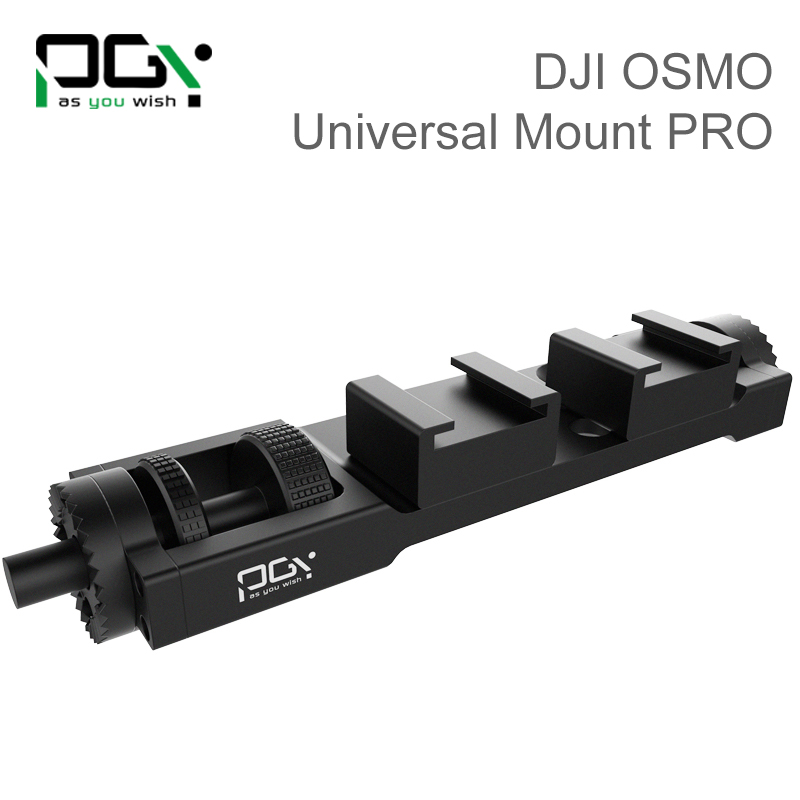 PGY DJI OSMO Straight Extension Arm For 4K Camera and 3 Axles Handheld Gimbal Quadcopter drone