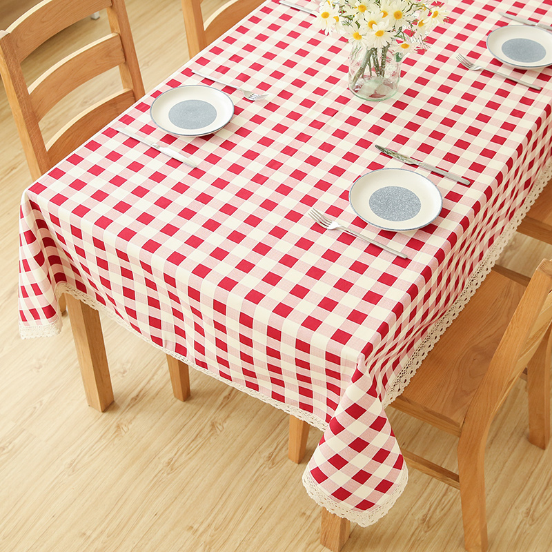 Beautiful Black and White Checkered Tablecloth Plastic