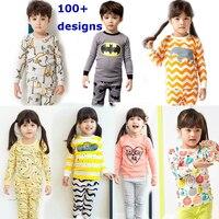 Kids Pajamas 2016 New Girls Spring Pyjamas Long Sleeve Sleepwear For Boys Pajamas Baby Nightwear