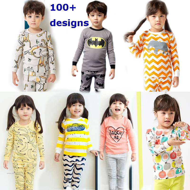 100% cotton kids pajamas 2017 Children autumn Clothing Set Girls pijamas infantil sleepwear for boys  pajamas baby nightwear baby nightwear pajama suit for children pajamas for boys with long sleeve kids pjs sleepwear set children s clothing 1 2 4 year
