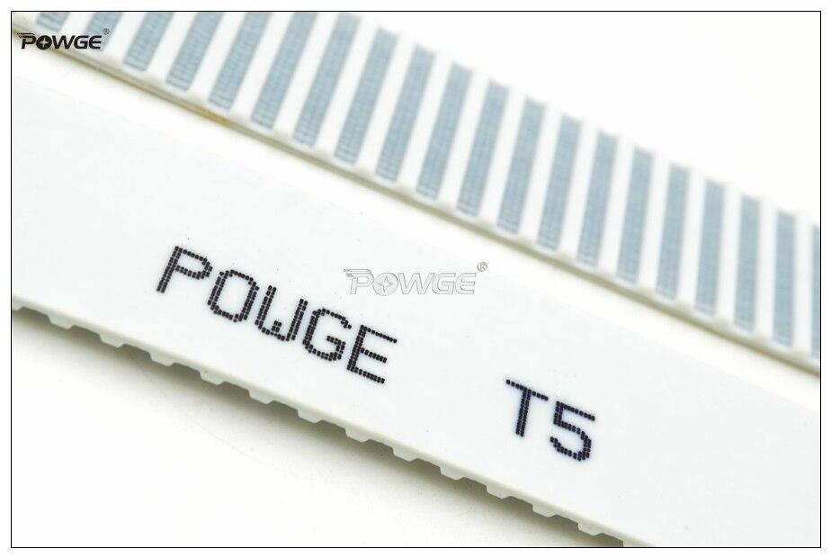 Powge 10メートルt5オープンエンドタイミングベルトT5 25幅= 25ミリメートルpuで鋼コアt5 25 at5ベルトフィットt5タイミングプーリー用cnc reprap  グループ上の 家のリフォーム からの トランスミッションベルト の中 3