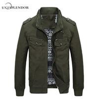 Men 2017 New Fashion Brand Cargo Jackets Spring Autumn Man Casual Bomber Jacket Male Long Sleeve