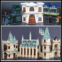 IN STOCK LEPIN 16030 1240Pcs Creative Movies Series The Hogwarts Castle Set Model Building Block Children