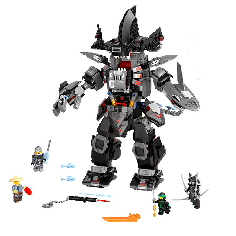 06060 806 Pcs Ninjago The Dark Garma Mecha Man Garmadon Lloyd Building Blocks Legoing Ninja Ninjagoed Figures Model Toys Gift совок садовый грин бэлт из нержавеющей стали 06 015