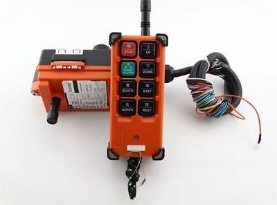 Spedizione gratuita 8 chiavi trasmettitore + ricevitore paranco gru - Utensili elettrici - Fotografia 2