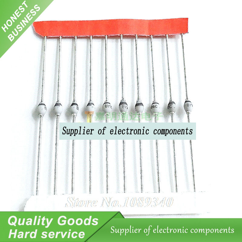 50PCS DIODE BYV26C BYV26C BYV26 DIP Fast Recovery Rectifiers New Original Free Shipping