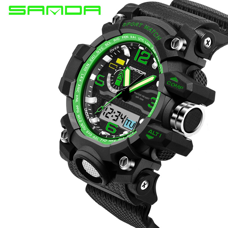 popular g shock watches men buy cheap g shock watches men lots mens watches 2016 sanda fashion watch men g style waterproof sports military watches shock luxury analog