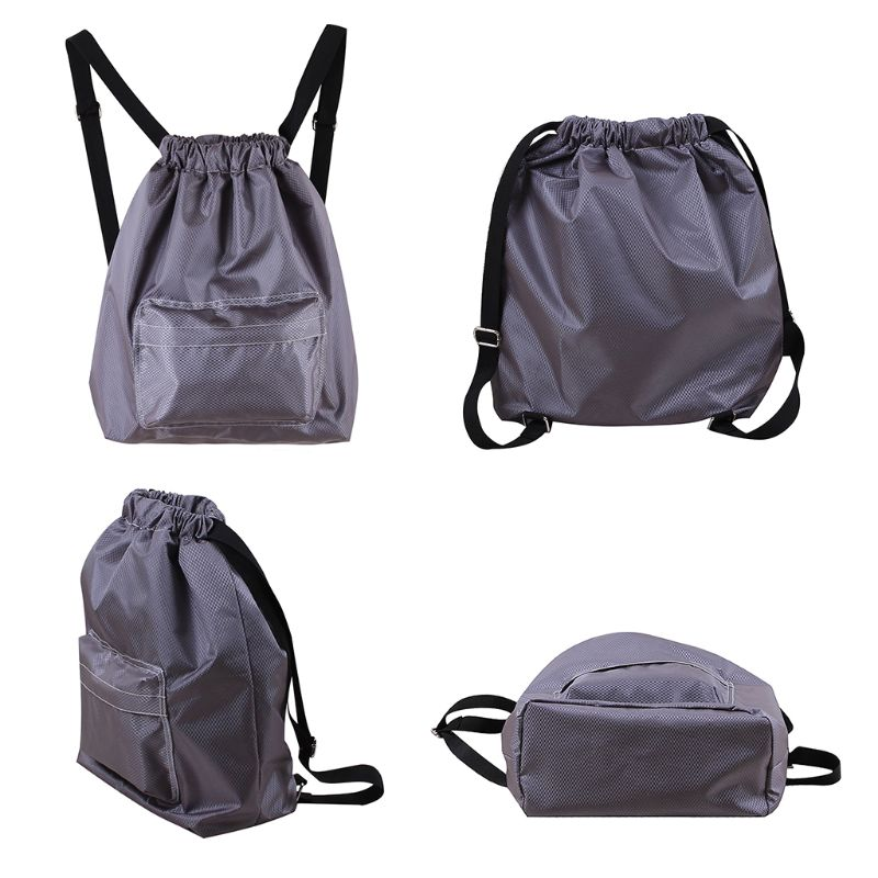 Swimming WaterProof Wet and Dry Separation Cord Backpack women s casual Drawstring Beach bag