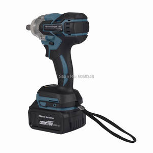 Image 5 - Electric Rechargeable Brushless Impact Wrench Cordless with one 18V 4.0Ah Lithium Battery